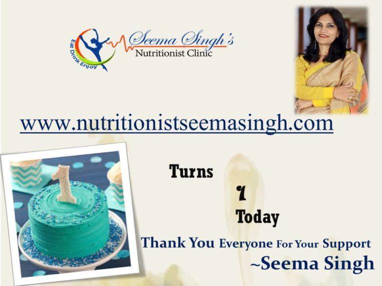 Seema Singh – Nutritionist & Dietician